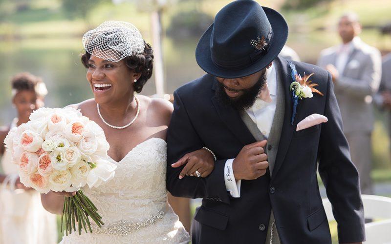 An Ode to the Harlem Renaissance: Nakesha and Shontae's Wedding | Atlanta, GA