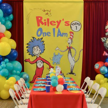 One I Am | A Dr. Seuss Birthday Party